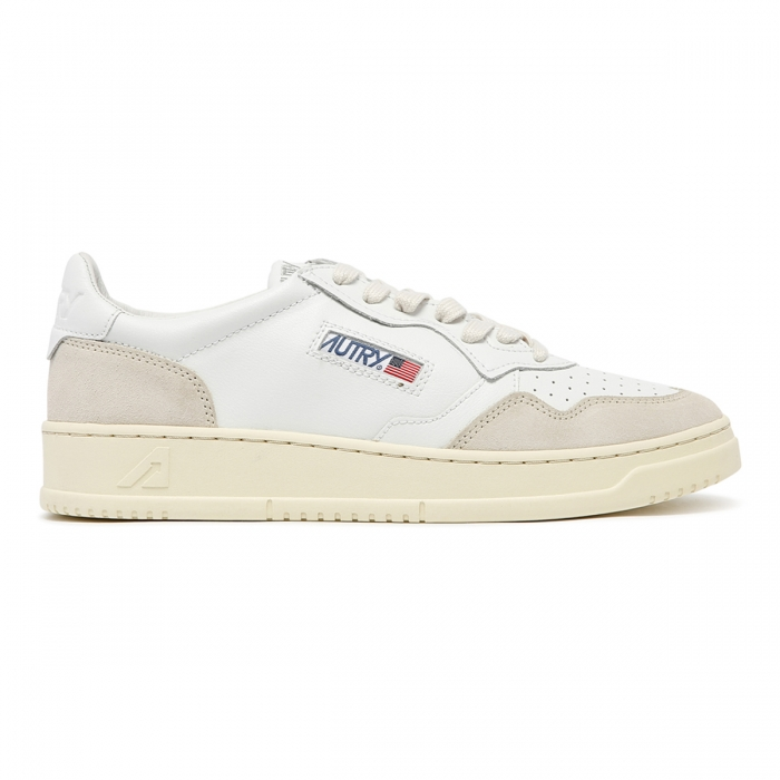 AUTRY White Leather Sneakers AULM 2