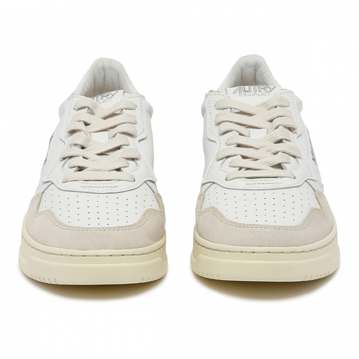 AUTRY White Leather Sneakers AULM 3