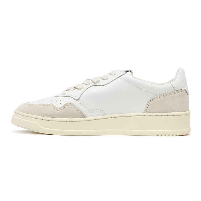 AUTRY White Leather Sneakers AULM 4