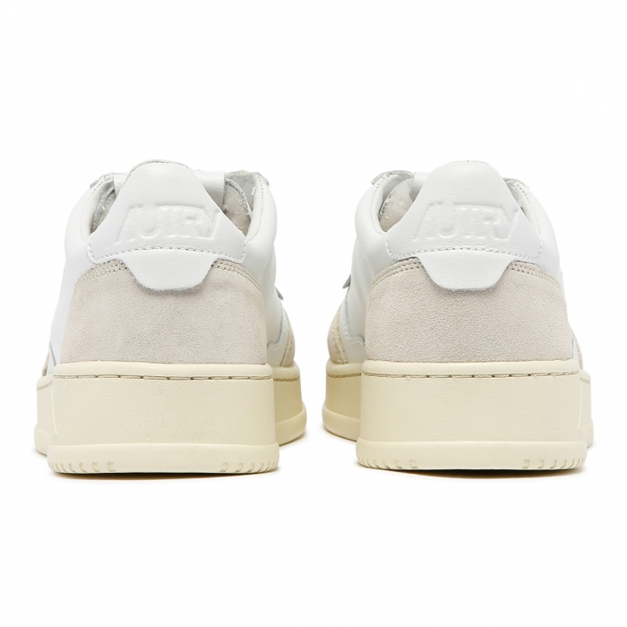 AUTRY White Leather Sneakers AULM 5