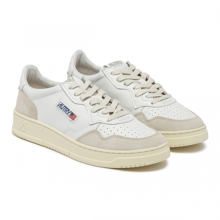 AUTRY White Leather Sneakers AULM 6