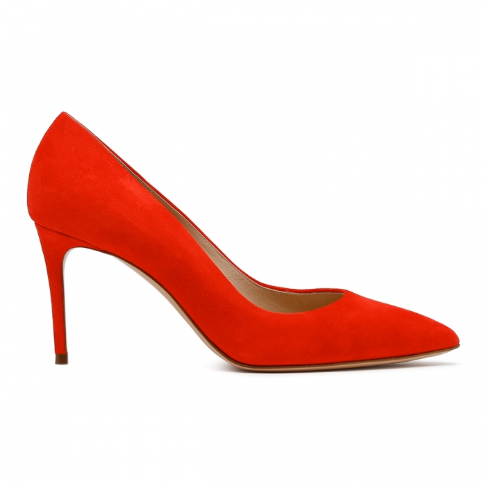CASADEI Cyber Red Leather Julia Pumps 1F120D0801CAMOS 2