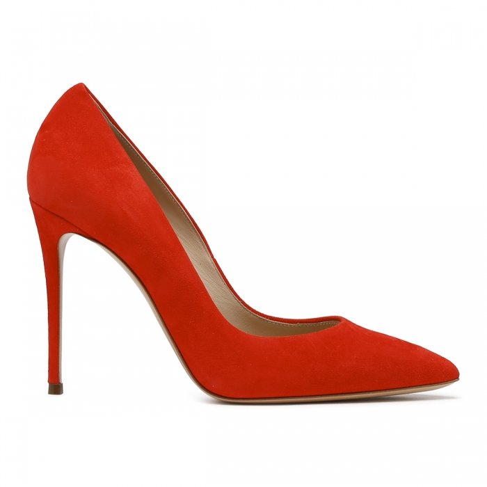 CASADEI Red Leather Julia Pumps 1F121D1001CAMOS 2