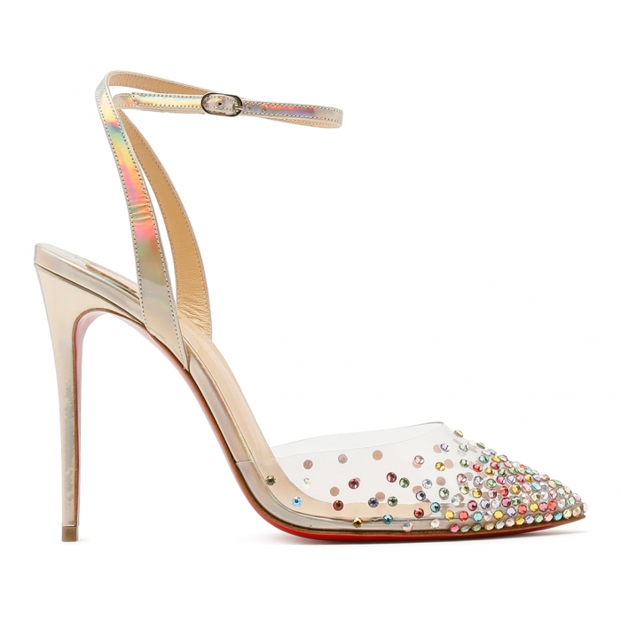 CHRISTIAN LOUBOUTIN Multicolor Spikaqueen Sandals 3210015 2