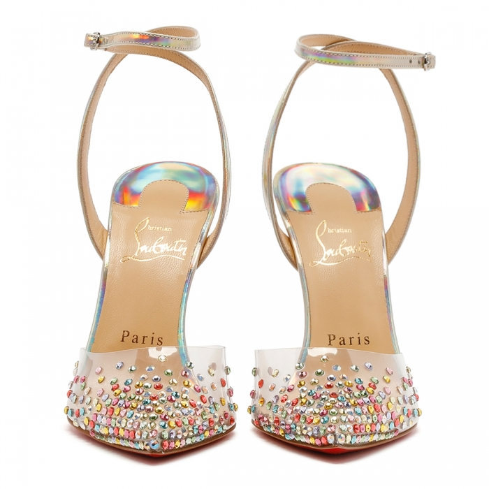 CHRISTIAN LOUBOUTIN Multicolor Spikaqueen Sandals 3210015 3