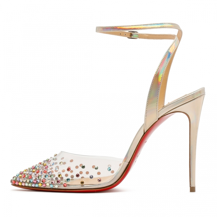 CHRISTIAN LOUBOUTIN Multicolor Spikaqueen Sandals 3210015 4