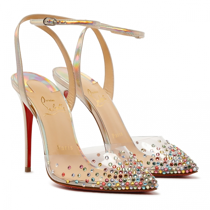 CHRISTIAN LOUBOUTIN Multicolor Spikaqueen Sandals 3210015 6