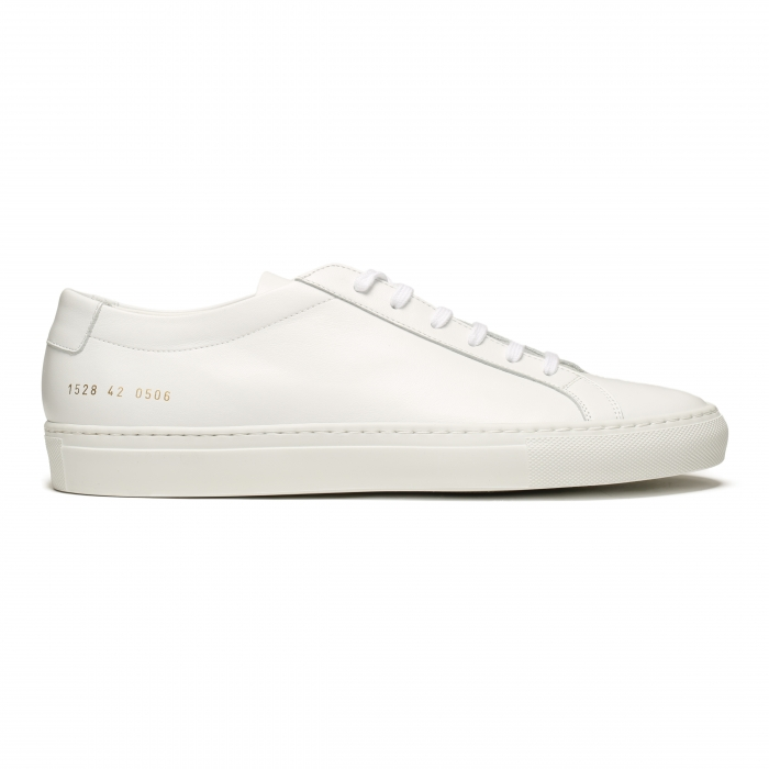COMMON PROJECTS White Low Original Achilles Sneakers 1528 2