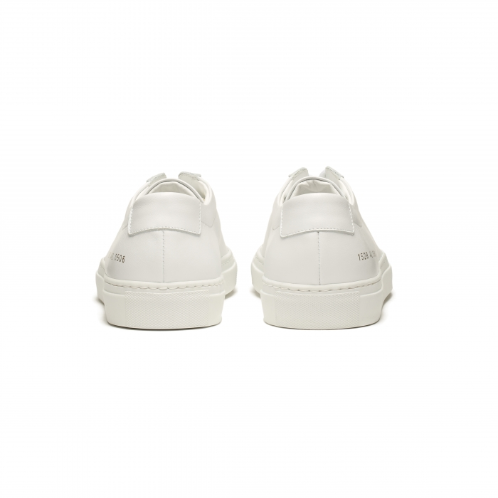 COMMON PROJECTS White Low Original Achilles Sneakers 1528 4