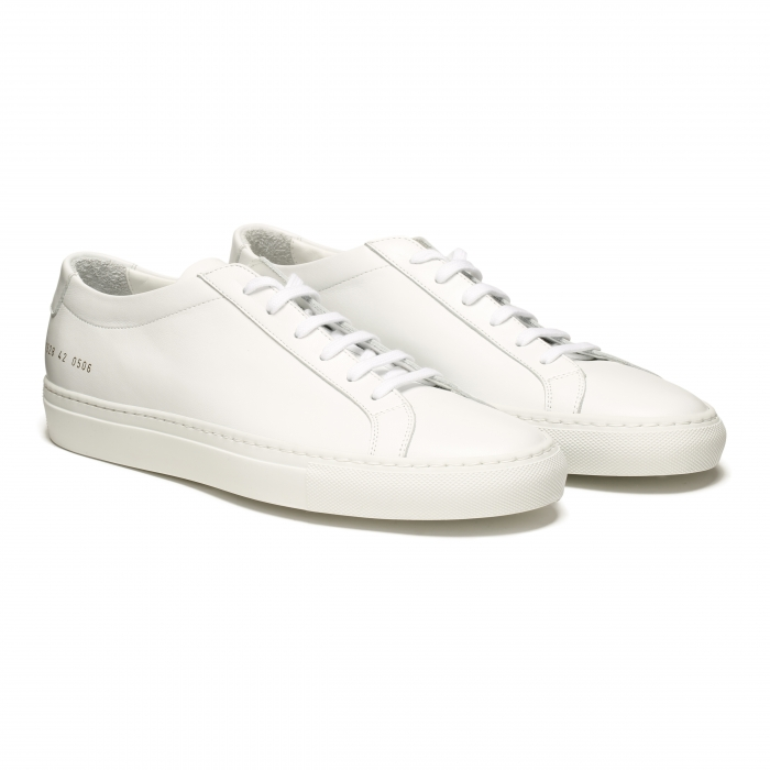 COMMON PROJECTS White Low Original Achilles Sneakers 1528 6