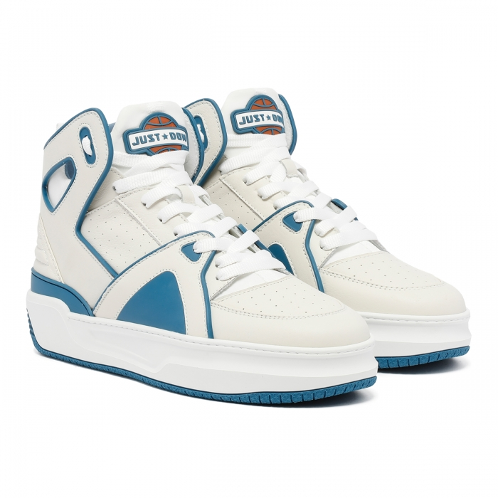 JUST DON Basketball Courtside Sneakers BSKTBLJD1 6