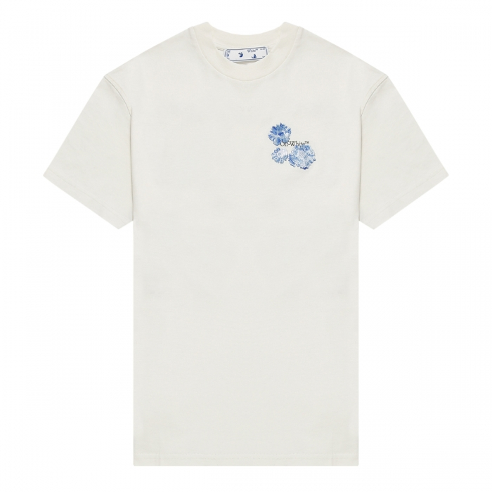 OFF-WHITE™ Floral-Arrows T-shirt OWAA089F21JER002 1