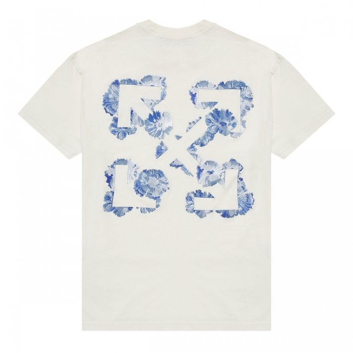 OFF-WHITE™ Floral-Arrows T-shirt OWAA089F21JER002 2
