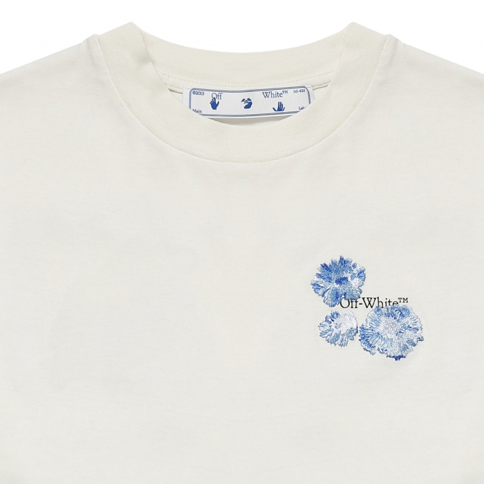 OFF-WHITE™ Floral-Arrows T-shirt OWAA089F21JER002 3