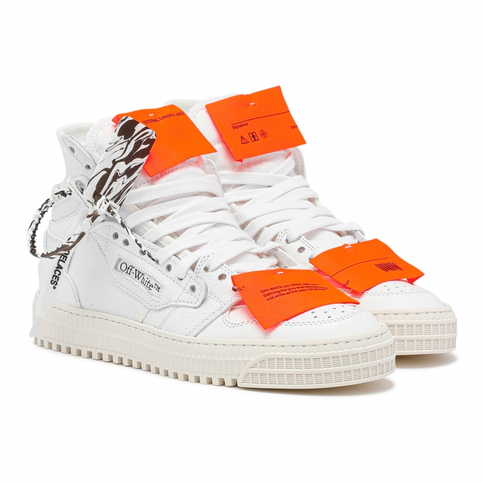 OFF-WHITE™ Off-Court 3.0 Lace-up Sneakers OWIA112F21LEA001 6