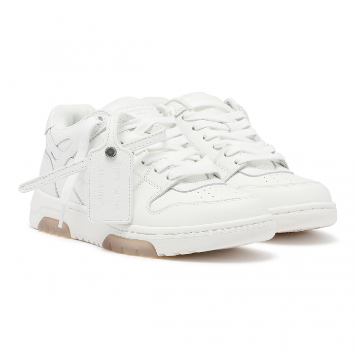 OFF-WHITE™ White Out of Office Sneakers OWIA259F21LEA001 6
