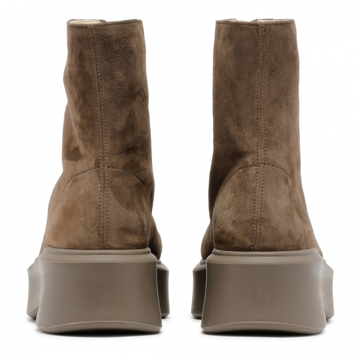 THE ROW Ash Suede Leather Zipped Boots F1144 5