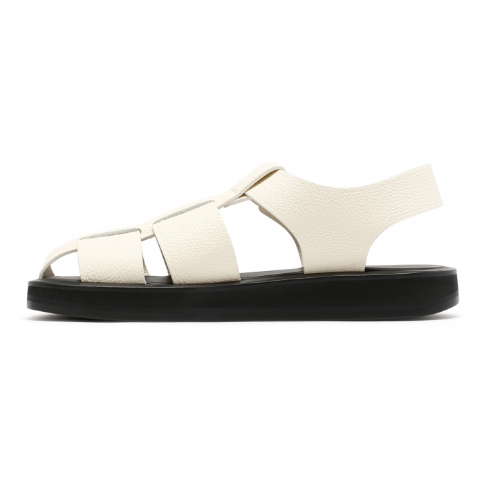 THE ROW Fisherman Ivory Sandals F1203 4
