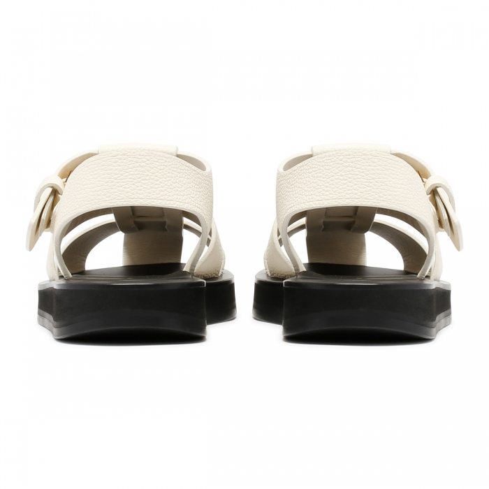 THE ROW Fisherman Ivory Sandals F1203 5