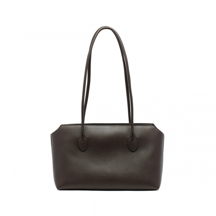 THE ROW Terrasse Brown Leather Bag W1292 5