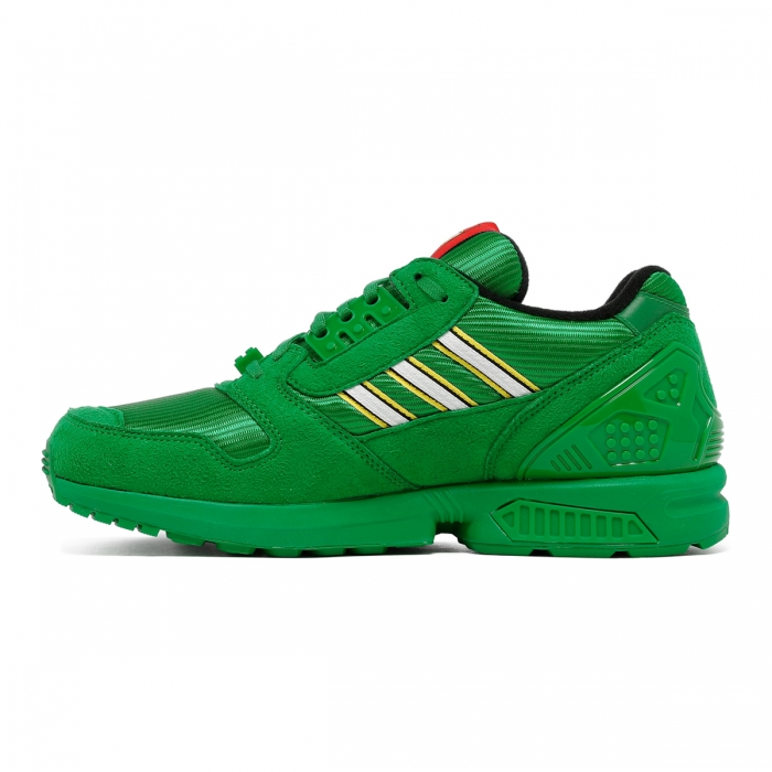 ADIDAS Green ZX 8000 Lego Sneakers FY7082 4