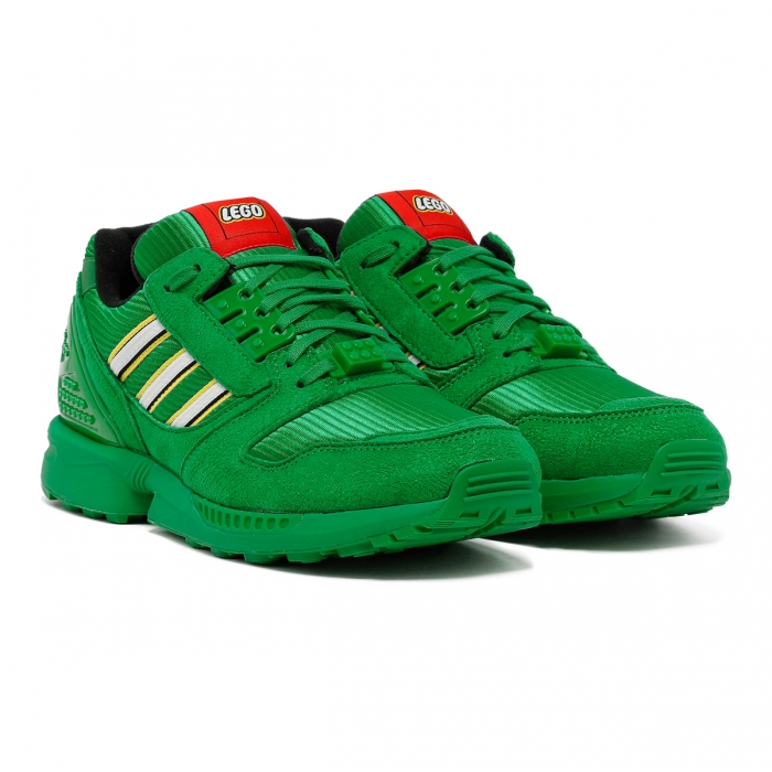 ADIDAS Green ZX 8000 Lego Sneakers FY7082 6