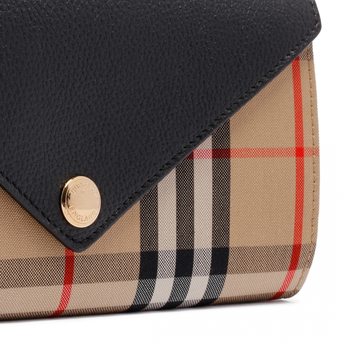 BURBERRY Large Check Continental Wallet 8026108 5