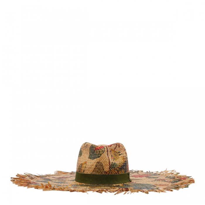 ETRO Tigers And Water Lilies Hat 12036 1