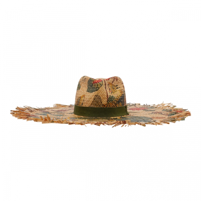 ETRO Tigers And Water Lilies Hat 12036 2