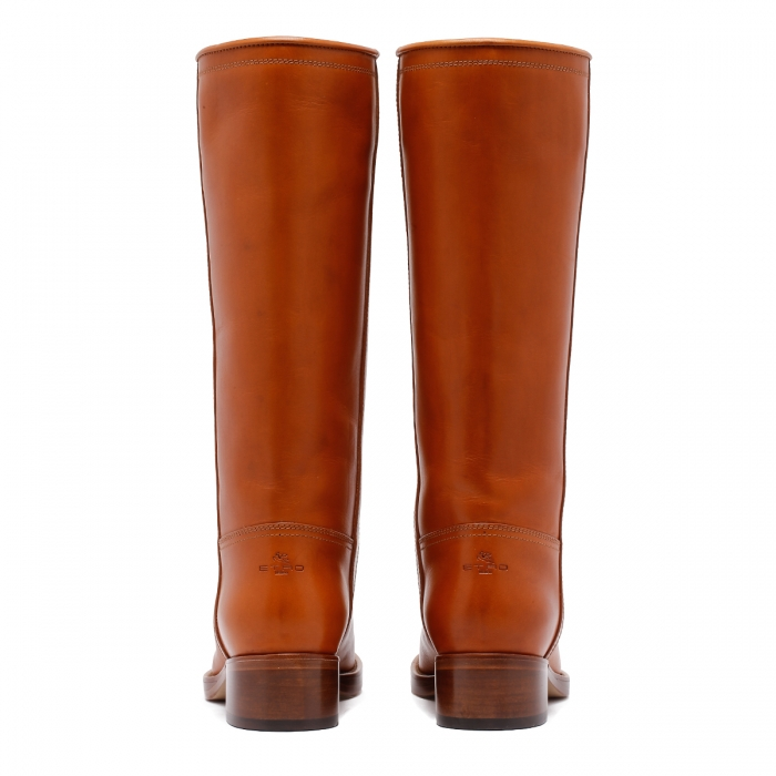 ETRO Brown Leather Boots 13447 5