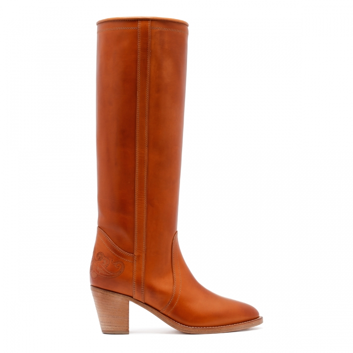 ETRO Brown Leather Boots 13712 2