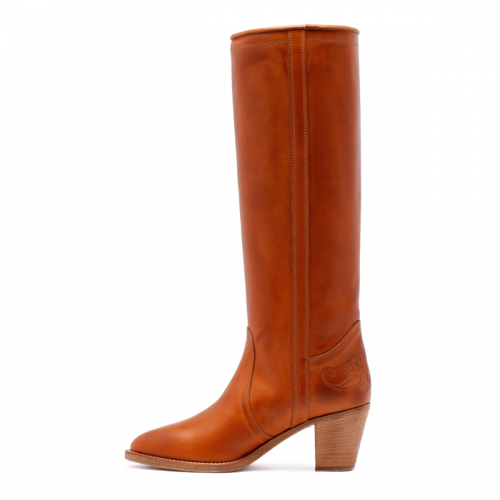 ETRO Brown Leather Boots 13712 4