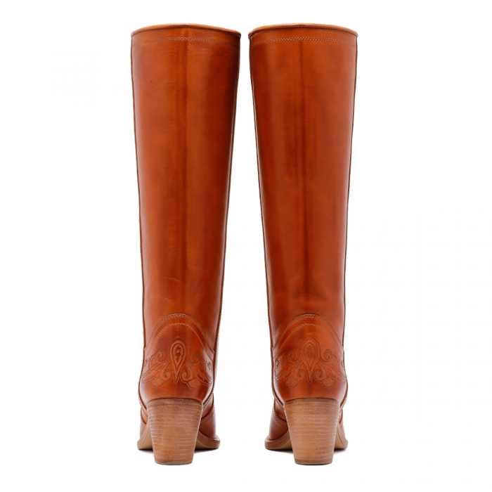 ETRO Brown Leather Boots 13712 5
