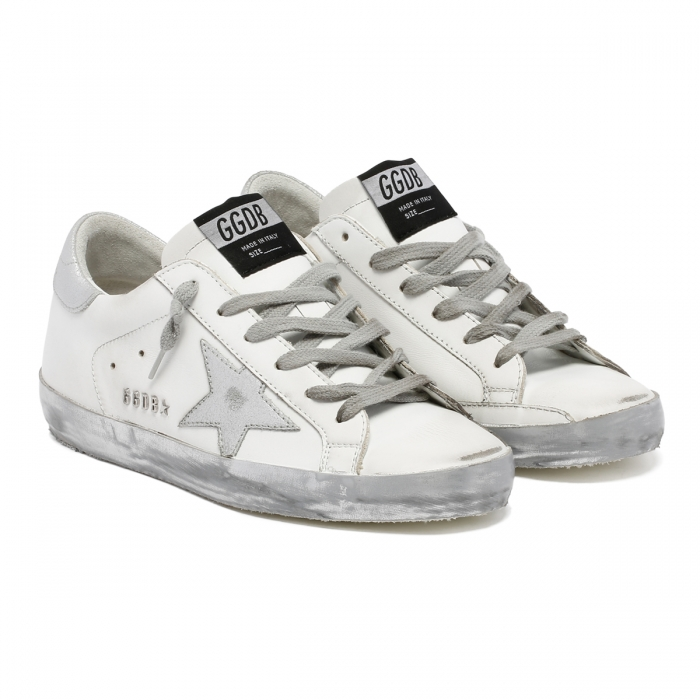 GOLDEN GOOSE Superstar Leather Sneakers GWF00101.F000314.80185 6