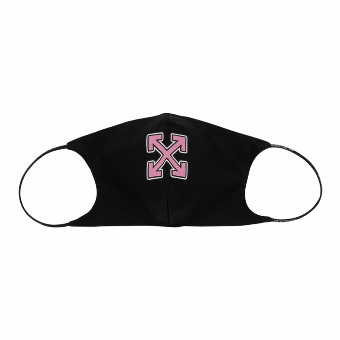 OFF-WHITE™ Black Arrows Face Mask OWRG002S21FAB002 2