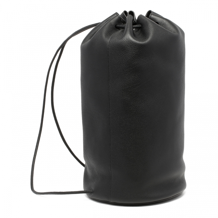 THE ROW Massimo Black Leather Backpack W1282 3