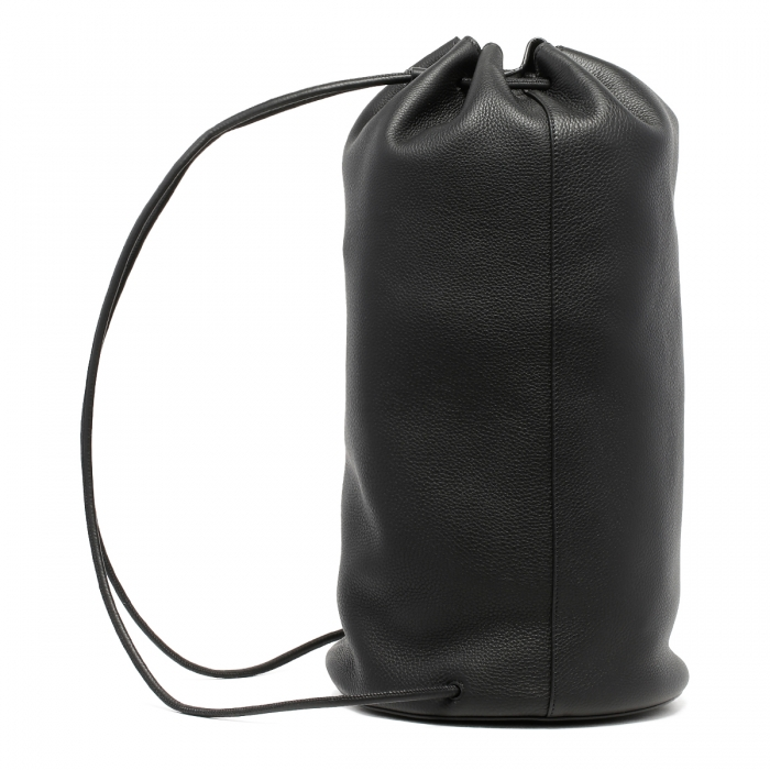 THE ROW Massimo Black Leather Backpack W1282 4