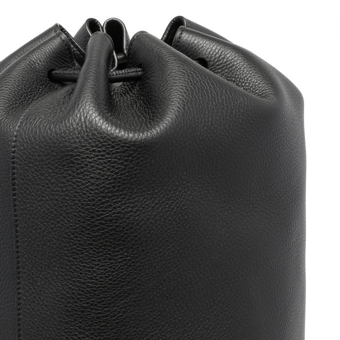 THE ROW Massimo Black Leather Backpack W1282 6