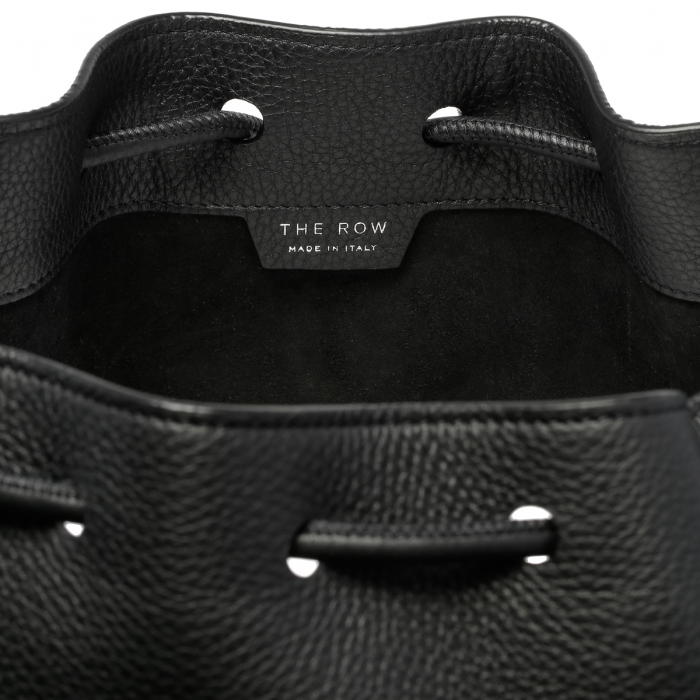 THE ROW Massimo Black Leather Backpack W1282 7