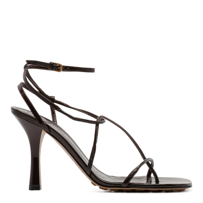 Brown BV Line Leather sandals