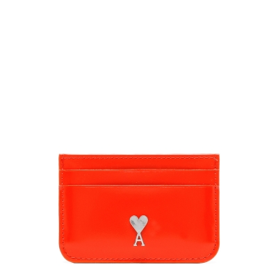 Red Card Holder with Logo