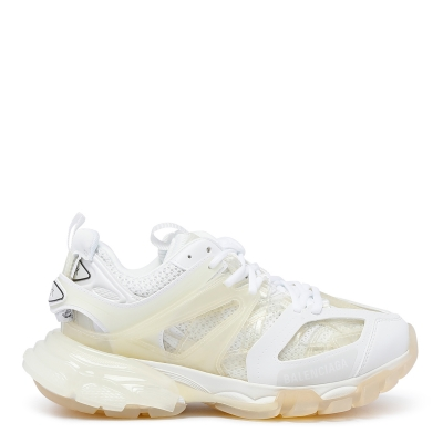 Clear Sole Track Sneakers