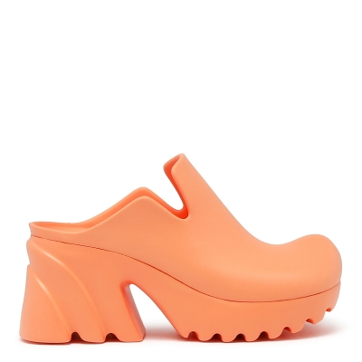 Pink Rubber Flash Clogs
