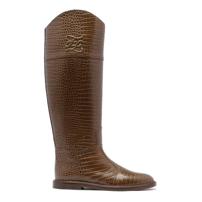 Karligraphy Brown Boots