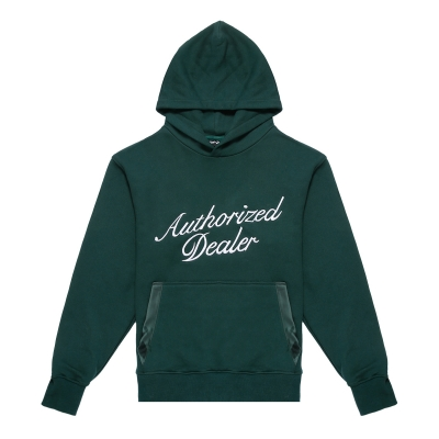 Authorized Dealer Green Hoodie