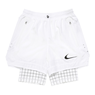 White 2-in-1 Shorts