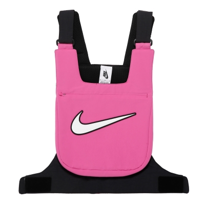 Pink and Black Vest With Logo