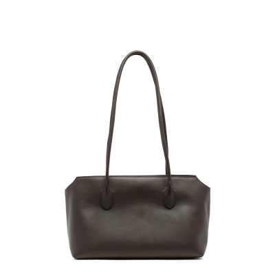 Terrasse Brown Leather Bag