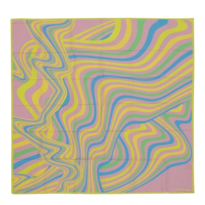 Pink Psychedelic scarf