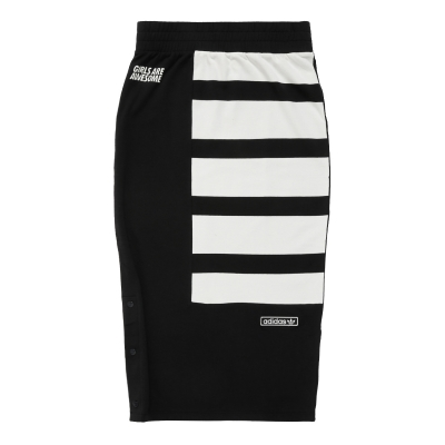 Black French Terry Skirt